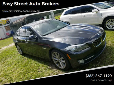 2011 BMW 5 Series for sale at Easy Street Auto Brokers in Lake City FL