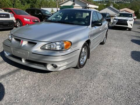 2003 Pontiac Grand Am for sale at JM Auto Sales in Shenandoah PA