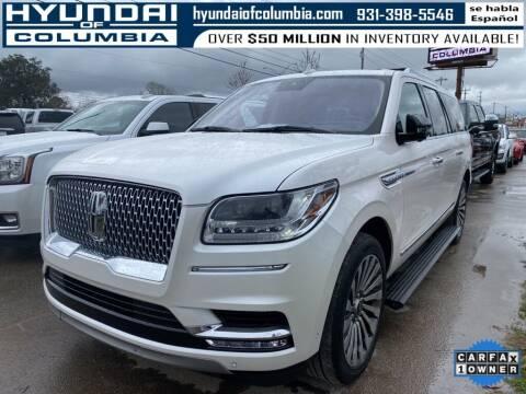 2018 Lincoln Navigator L for sale at Hyundai of Columbia Con Alvaro in Columbia TN