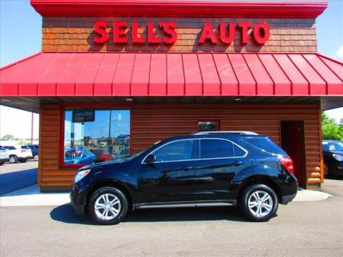 2013 Chevrolet Equinox for sale at Sells Auto INC in Saint Cloud MN