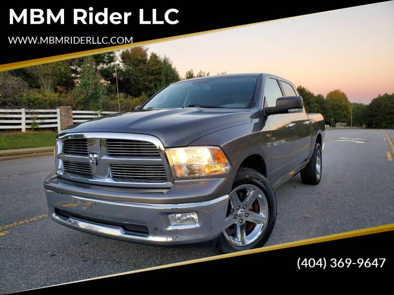 2012 RAM Ram Pickup 1500 for sale at MBM Rider LLC in Alpharetta GA