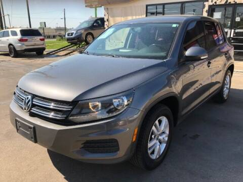 2014 Volkswagen Tiguan for sale at Auto Limits in Irving TX