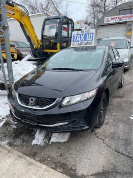 2014 Honda Civic for sale at Drive Deleon in Yonkers NY