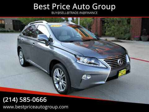 2013 Lexus RX 350 for sale at Best Price Auto Group in Mckinney TX