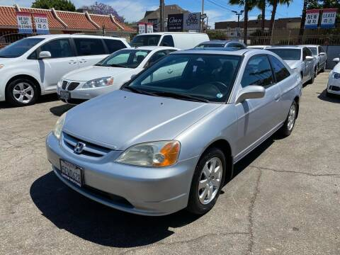 2003 Honda Civic for sale at Orion Motors in Los Angeles CA