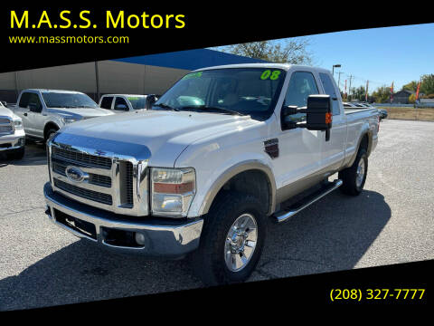 2008 Ford F-350 Super Duty for sale at M.A.S.S. Motors - MASS MOTORS in Boise ID