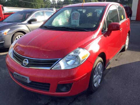 2012 Nissan Versa for sale at Motuzas Automotive Inc. in Upton MA