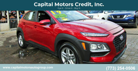 2019 Hyundai Kona for sale at Capital Motors Credit, Inc. in Chicago IL