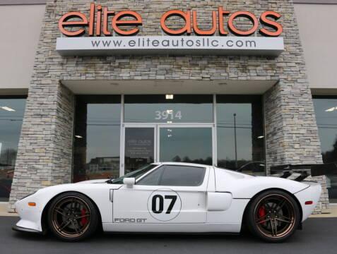 2006 Ford GT for sale at Elite Autos LLC in Jonesboro AR