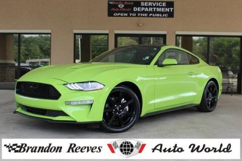 2020 Ford Mustang for sale at Brandon Reeves Auto World in Monroe NC