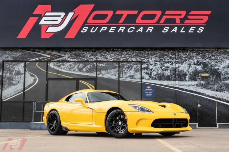 2014 Dodge SRT Viper for sale at BJ Motors in Tomball TX