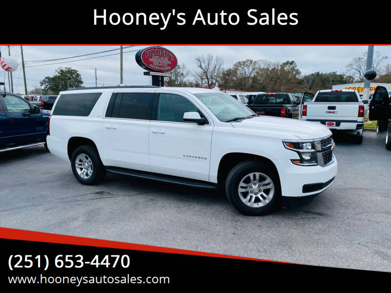 2015 Chevrolet Suburban for sale at Hooney's Auto Sales in Theodore AL