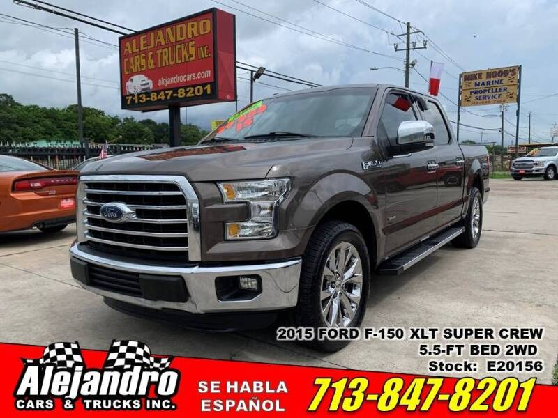 2015 Ford F-150 for sale at Alejandro Cars & Trucks Inc in Houston TX