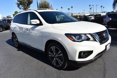 2018 Nissan Pathfinder for sale at DIAMOND VALLEY HONDA in Hemet CA