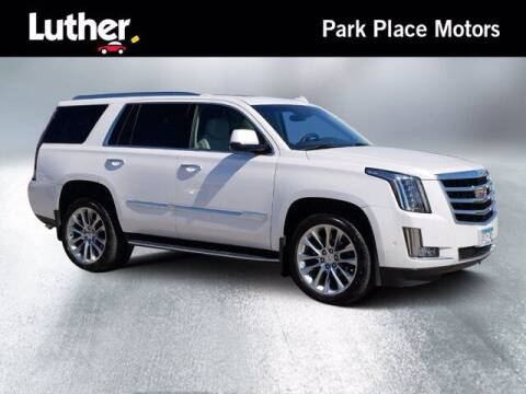 2017 Cadillac Escalade for sale at Park Place Motor Cars in Rochester MN