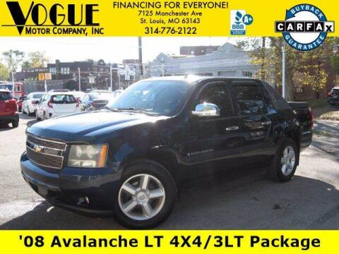 2008 Chevrolet Avalanche for sale at Vogue Motor Company Inc in Saint Louis MO