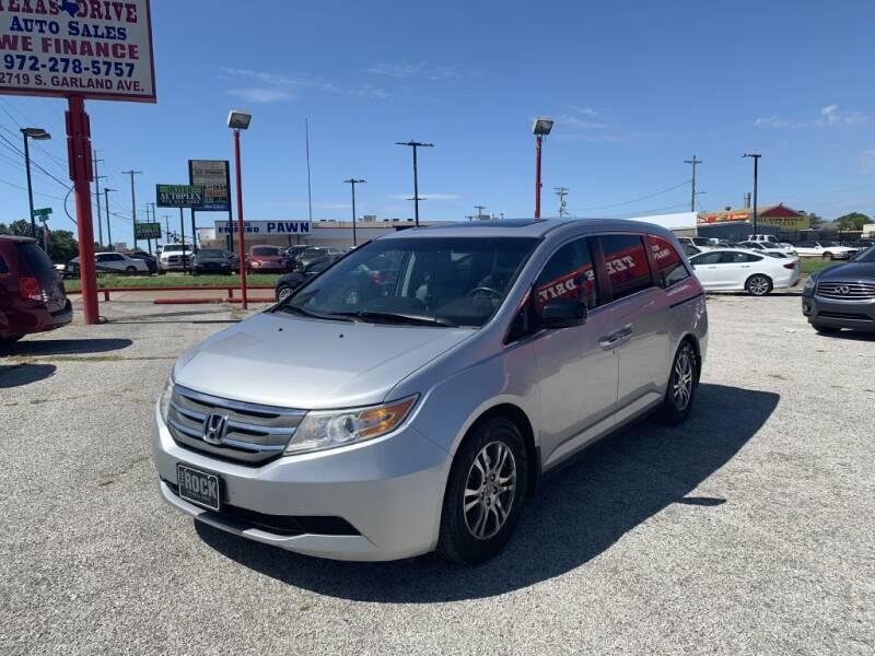 2012 Honda Odyssey for sale at Texas Drive LLC in Garland TX