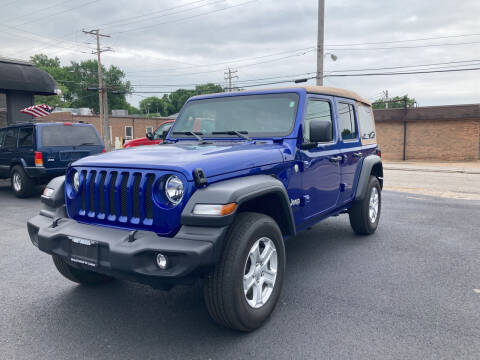 2019 Jeep Wrangler Unlimited for sale at Savannah Motors in Belleville IL
