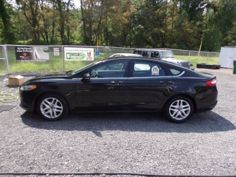 2015 Ford Fusion for sale at RJ McGlynn Auto Exchange in West Nanticoke PA