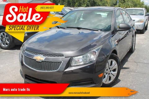 2014 Chevrolet Cruze for sale at Mars auto trade llc in Kissimmee FL