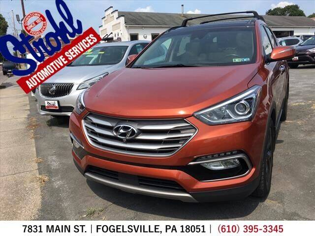 2018 Hyundai Santa Fe Sport for sale at Strohl Automotive Services in Fogelsville PA