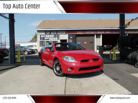 2007 Mitsubishi Eclipse Spyder for sale at Top Auto Center in Quakertown PA
