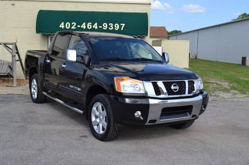 2015 Nissan Titan for sale at Eastep's Wheels in Lincoln NE