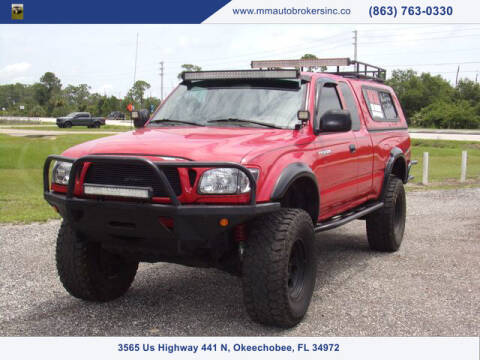 2001 Toyota Tacoma for sale at M & M AUTO BROKERS INC in Okeechobee FL