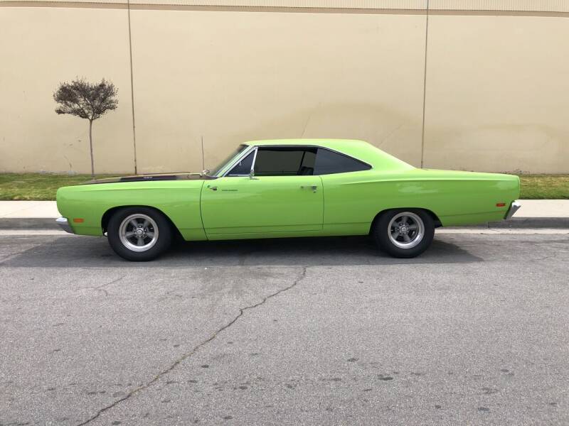 1969 Plymouth Roadrunner for sale at HIGH-LINE MOTOR SPORTS in Brea CA