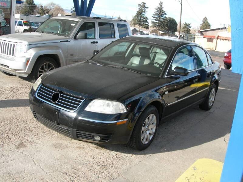 2002 Volkswagen Passat for sale at Springs Auto Sales in Colorado Springs CO