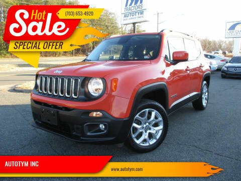 2015 Jeep Renegade for sale at AUTOTYM INC in Fredericksburg VA