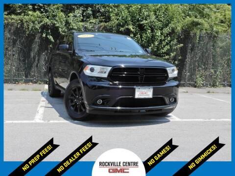 2017 Dodge Durango for sale at Rockville Centre GMC in Rockville Centre NY