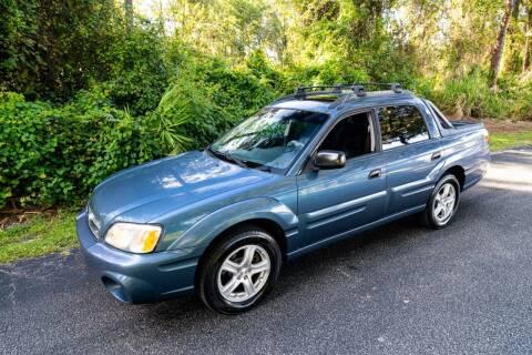 2006 Subaru Baja for sale at Sarasota Car Sales in Sarasota FL