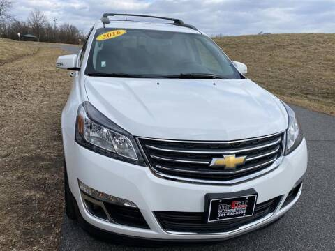 2016 Chevrolet Traverse for sale at Mr. Car City in Brentwood MD