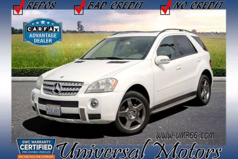 2006 Mercedes-Benz M-Class for sale at Universal Motors in Glendora CA