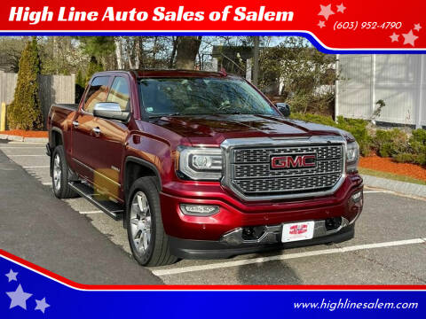 2016 GMC Sierra 1500 for sale at High Line Auto Sales of Salem in Salem NH