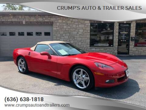 2007 Chevrolet Corvette for sale at CRUMP'S AUTO & TRAILER SALES in Crystal City MO