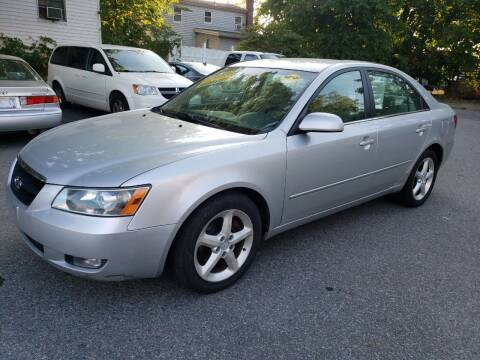 2007 Hyundai Sonata for sale at Devaney Auto Sales & Service in East Providence RI