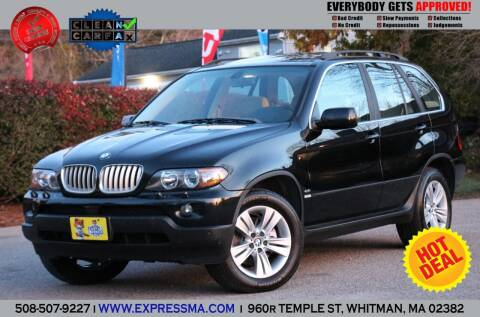 2004 BMW X5 for sale at Auto Sales Express in Whitman MA