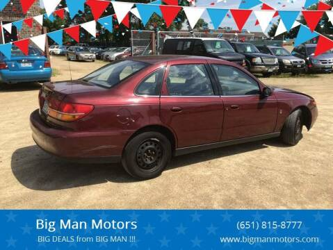 2002 Saturn L-Series for sale at Big Man Motors in Farmington MN