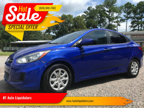 2013 Hyundai Accent for sale at #1 Auto Liquidators in Yulee FL