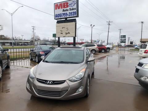 2013 Hyundai Elantra for sale at MB Auto Sales in Oklahoma City OK