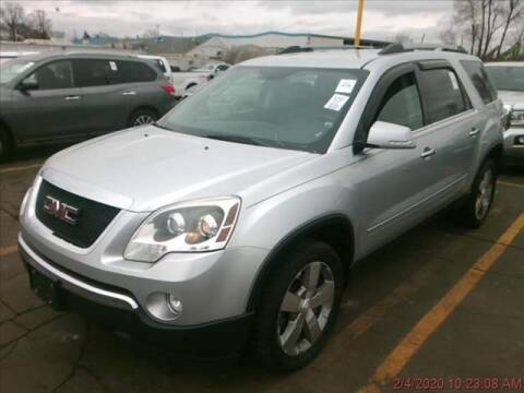 2012 GMC Acadia for sale at Cj king of car loans/JJ's Best Auto Sales in Troy MI