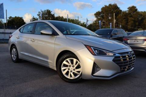 2019 Hyundai Elantra for sale at OCEAN AUTO SALES in Miami FL
