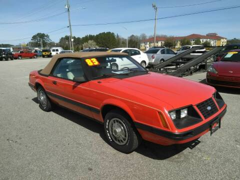 1983 Ford Mustang for sale at Kelly & Kelly Supermarket of Cars in Fayetteville NC