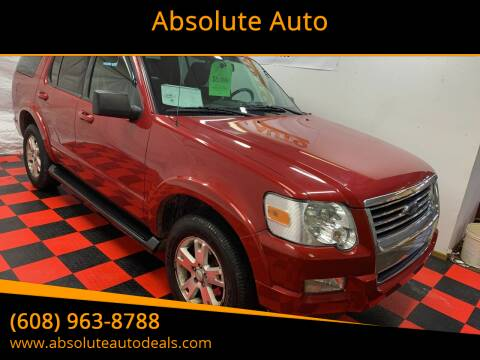 2009 Ford Explorer for sale at Absolute Auto in Baraboo WI