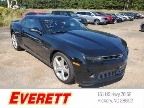 2015 Chevrolet Camaro for sale at Everett Chevrolet Buick GMC in Hickory NC