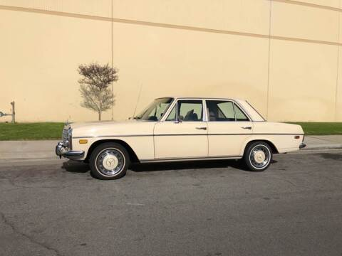 1973 Mercedes-Benz 220D for sale at HIGH-LINE MOTOR SPORTS in Brea CA