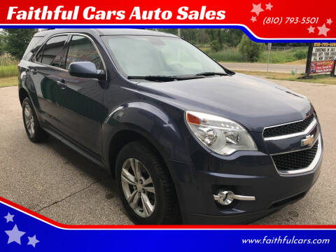 2014 Chevrolet Equinox for sale at Faithful Cars Auto Sales in North Branch MI