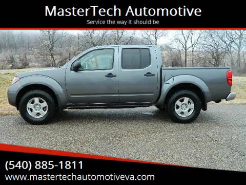 2016 Nissan Frontier for sale at MasterTech Automotive in Staunton VA